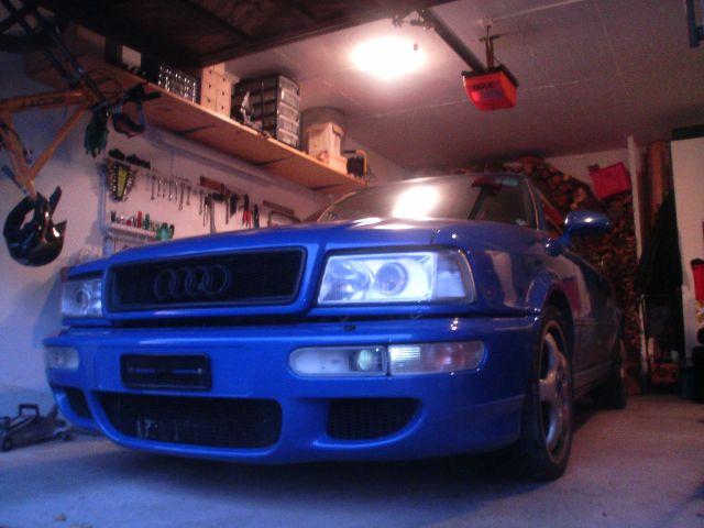 Ma RS2, un vieux rêve enfin réalité Face_garage
