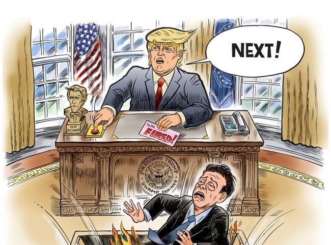 NEIL KEENAN UPDATES 6/07/2017 Trump-swamp-fired-comey