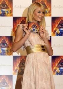 The Music Industry Exposed – Misuse and Abuse of Esoteric Symbols ParisHilton_Illuminati-213x300