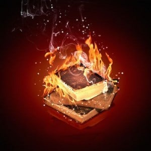 Why You Should Unlearn Almost Every 'Spiritual' Thing You Know Book-burning-300x300