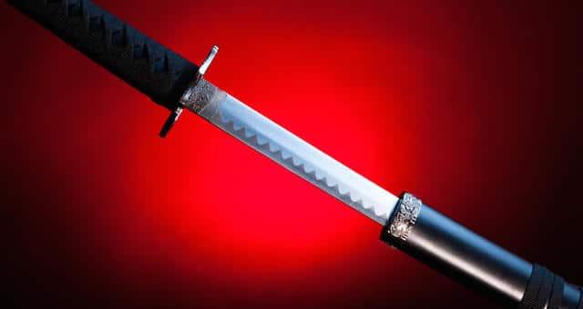 The Art of Living & Dying Samurai-sword