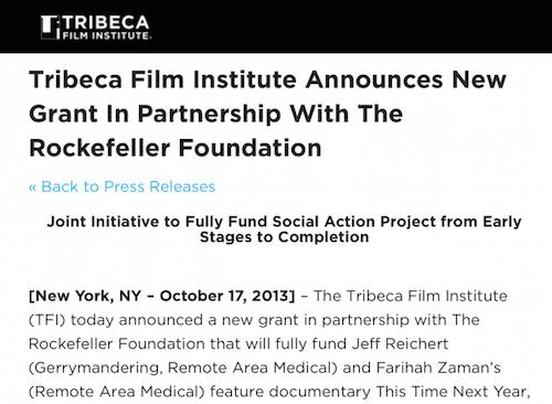 Robert De Niro, Alt-Media Hero for Successful Launch of VAXXED Documentary Tribeca-screen