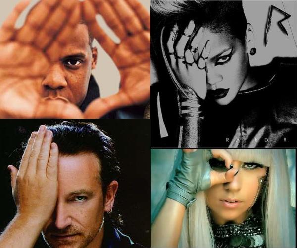 Ariana Grande and the Illuminati Beta Kittens of Pop Culture  Popstars_oneeye