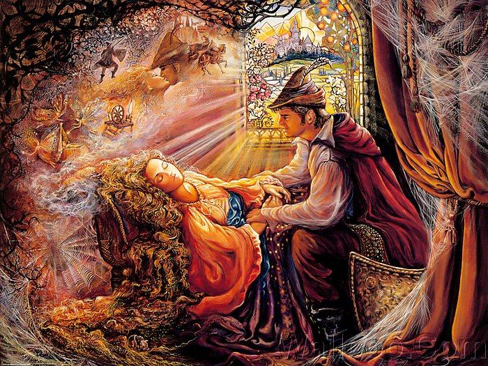 Љубовни сликички Mystical_fantasy_paintings_kb_Wall_Josephine-Sleeping_Beauty