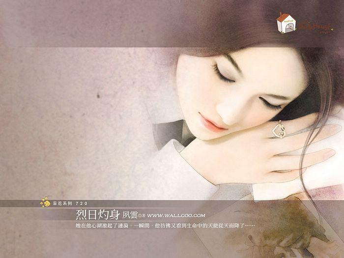 صور بنات انمي كيوت للتصميم والتواقيع  Book_cover_girls_b720_wallcoo.com