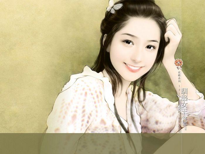 خلفيات كمبيوتر للبنات Art_paintings_of_sweet_girls_bi41215