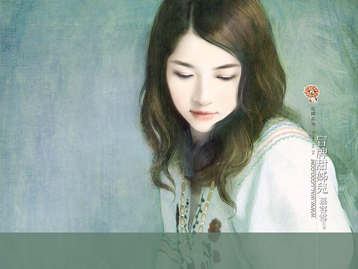 خلفيات كمبيوتر للبنات Art_paintings_of_sweet_girls_bi41222