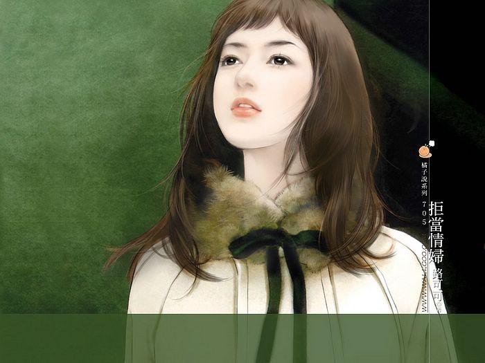 خلفيات كمبيوتر للبنات Art_paintings_of_sweet_girls_bi705
