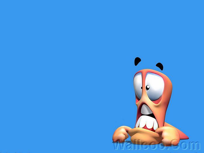 جميع إصدرات اللعبة الشهيره WORMS Wallpaper_Worms_3D_02