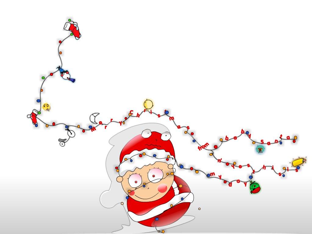 تهنئة بالعام الجديد Santa-Claus-1381