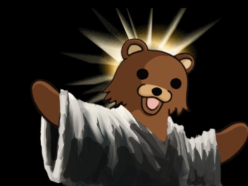 Pbear !  Pedobear%20funny%20jesus%20christ_www.wallpaperhi.com_29