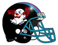 Miss him yet? - Page 4 Clown-fantasy-football-helmet