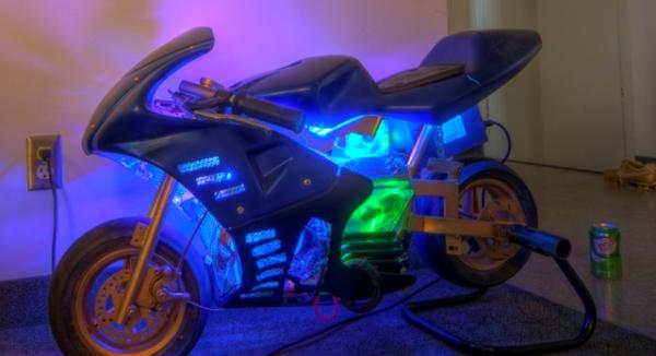 De mini-moto a computador- Pocketbike i7 Pocketbike-i7