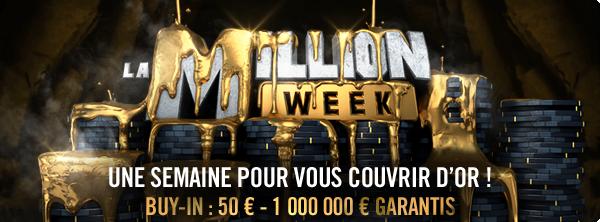 Million Week : Une semaine pour vous couvrir d'or 13979109575a70587ad9f34