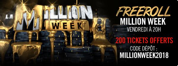Million Week : Une semaine pour vous couvrir d'or 16496580185a7d79ba5cdfd