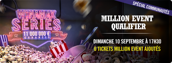 Qualifiez-vous au Million Event pour 2 € ! 183081094159ad8073ed23d