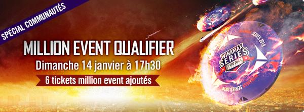 Qualifiez-vous pour le Million Event pour 2 € ! 19489582245a538fdaa1adb