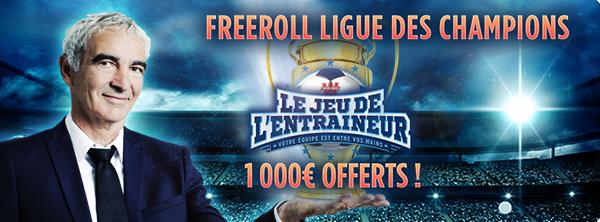JDE – 1 000 € offerts pour la Ligue des Champions ! 207928502859b7a8ff0db22