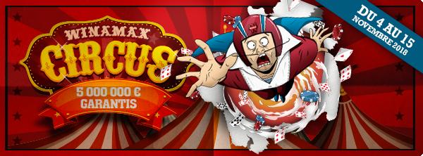 Winamax Circus – 5 millions d'euros garantis ! 5134300925bd08ad89409b