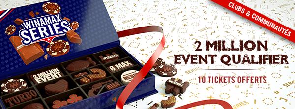 Qualifiez-vous au 2 Million Event pour 2 € 21411392585c99e907b04d5