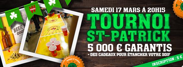 Tournoi Saint-Patrick : plein de cadeaux ! 6007070115c8a3a9cb137e