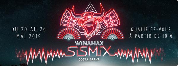 Winamax SISMIX Costa Brava 7650084825c6e6a1f57f22