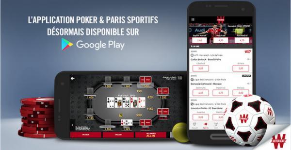 Winamax est dispo sur le Google Play Store 11822998365983298f3052d