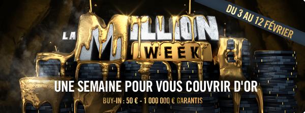 Million Week – Une semaine pour vous couvrir d'or 12257489455c4b22f1160e6