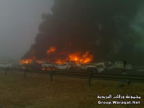 ثلاثة قتلى ومئات الجرحى بأسوأ حادث مرور بالإمارات Abudhabi4