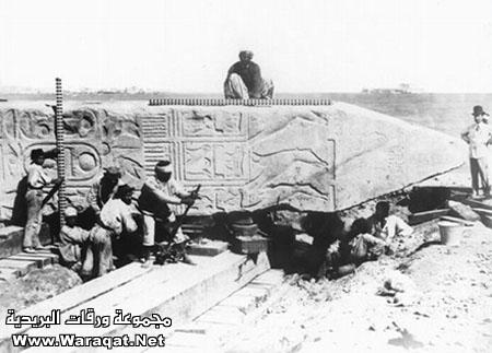 حقيقة بناء الأهرامات معجزة قرآنية بالصور Egypt_from_150_years3