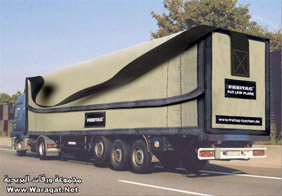 خداع بصري على شاحنات ألمانية : Photo2
