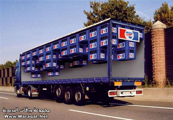 خداع بصري على شاحنات ألمانية : Photo6