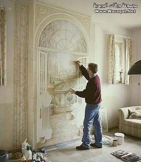 فن الرسم على المنازل  Rasem-almanzel10