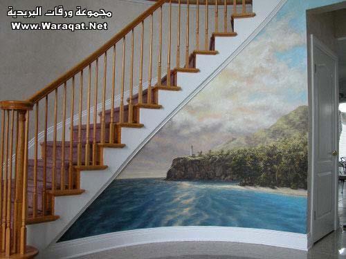 فن الرسم على المنازل  Rasem-almanzel16