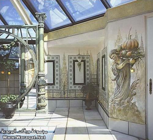 فن الرسم على المنازل  Rasem-almanzel18