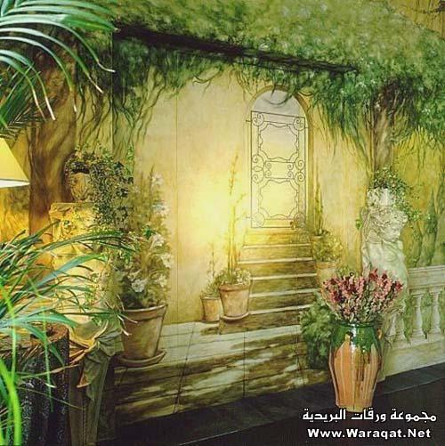 فن الرسم على المنازل  Rasem-almanzel8
