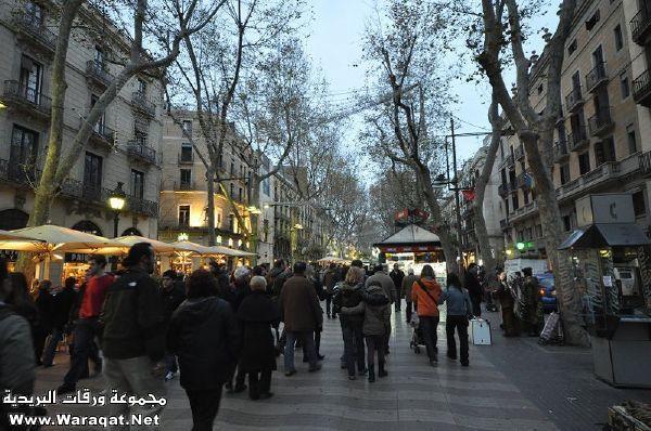 برشلونة الساحرة .. عاصمة إقليم كاتلونيا الإسباني ..!! Catalunya26