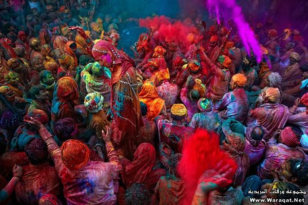 صور عيد الألوان في الهند 3ed-color_2