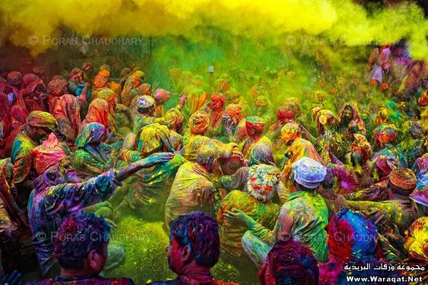 صور عيد الألوان في الهند 3ed-color_3