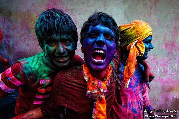 صور عيد الألوان في الهند 3ed-color_4
