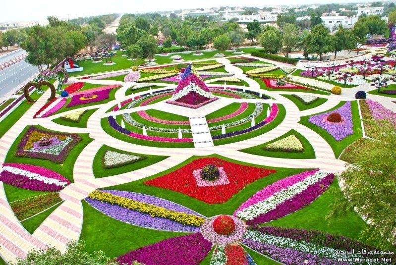 """أول حديقة تدخل موسوعة جينيس بأكبر عدد سلاسل ورد معلقة بالعالم """"العين برادايس"""" 7deqh_emarh1"""