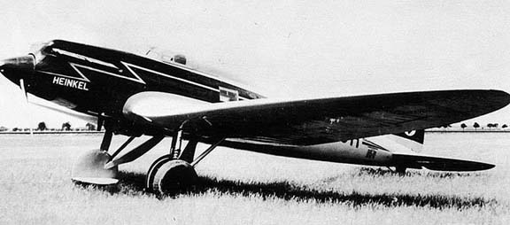 Les versions du bf 109 He70-1