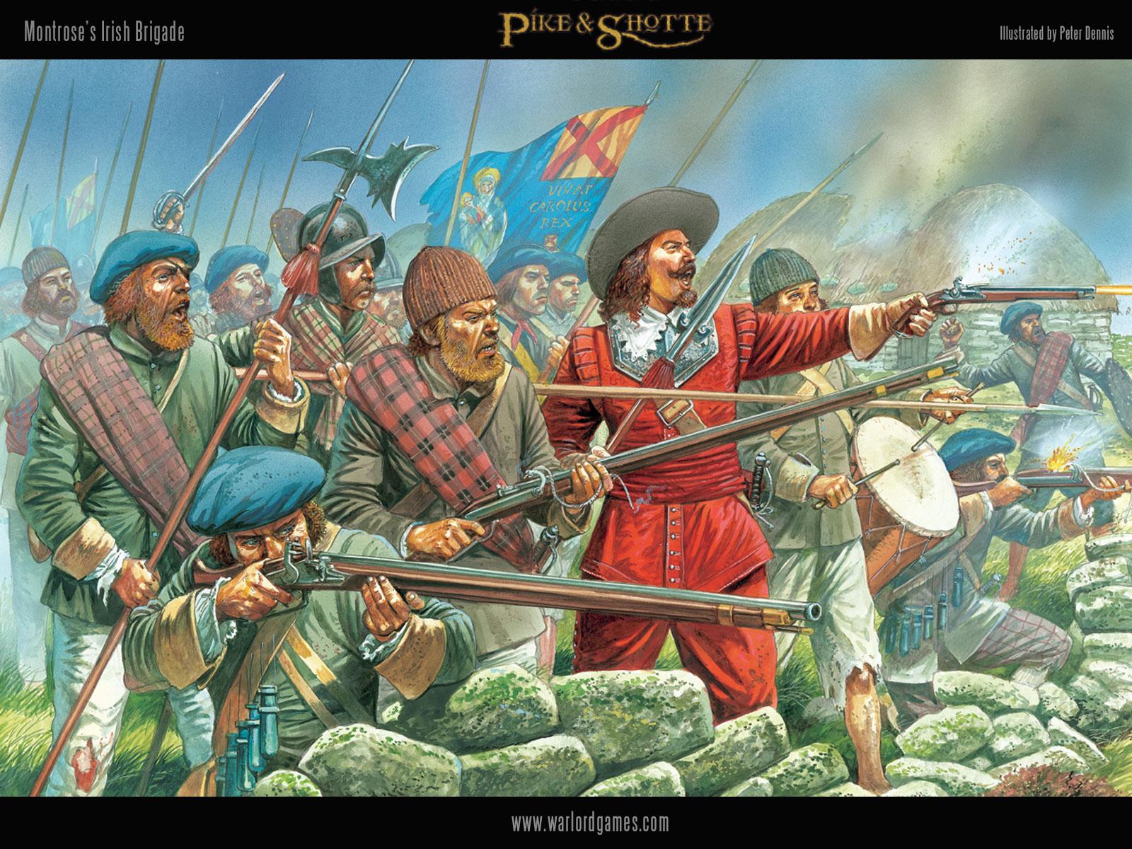 Illustrations P&S Montrose-Irish-wallpaper