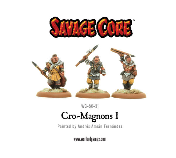 Savage Core ! WG-SC-31-Cro-Magnons-I-front-600x542