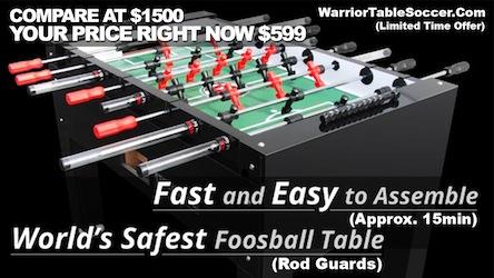 Runaway Bay Texas Warrior soccer tournament Nov 21st BUY-A-TABLE