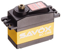 Choisir son servo et étancher votre servo pour SCX10 et Scale Trial SC-1258TG_1