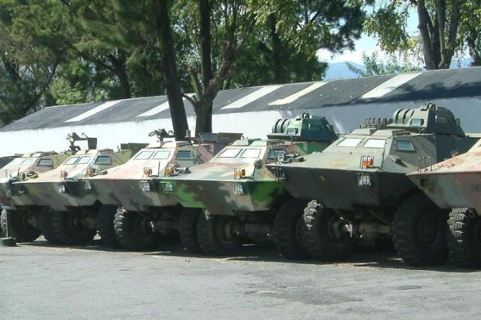 Les forces armées du Guatemala / Military of Guatemala / Ejército de Guatemala ArmadilloTurretValladares