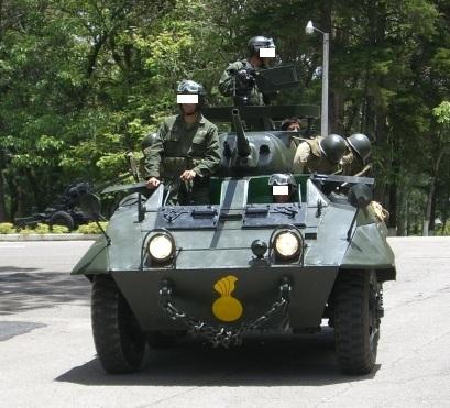 Les forces armées du Guatemala / Military of Guatemala / Ejército de Guatemala M8greyhoundGuatemalaValladares%20%281%29