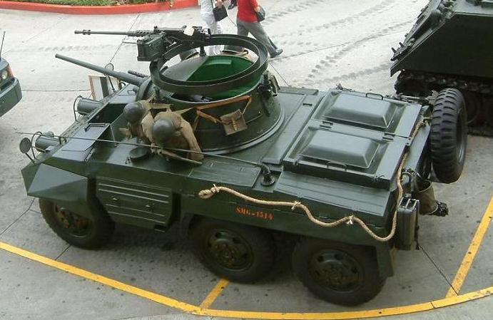 Les forces armées du Guatemala / Military of Guatemala / Ejército de Guatemala M8greyhoundGuatemalaValladares%20%283%29