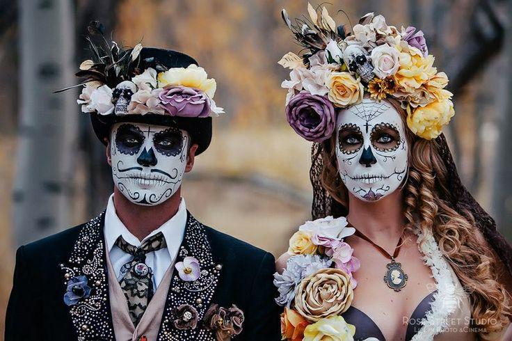 Što biste radili s osobom iznad, prikaži slikom - Page 4 Nice-couples-Halloween-makeup